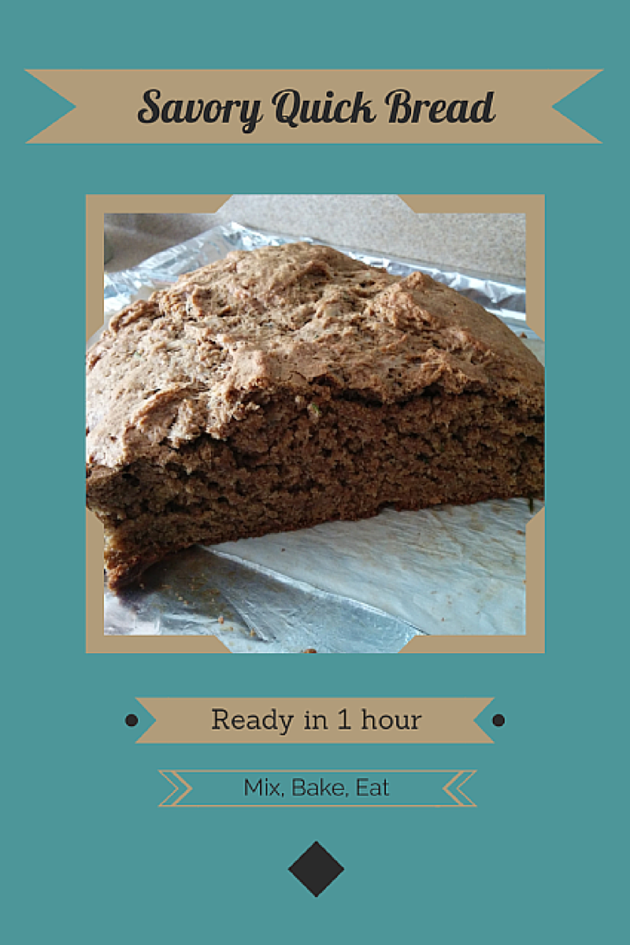 Here's my own recipe for a delicious and simple quick bread.