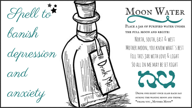 Moon Magic Water Spell